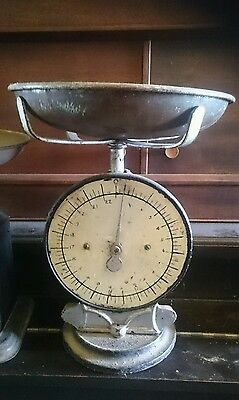 Vintage Antique Family Scale Hand Painted Numbers Display