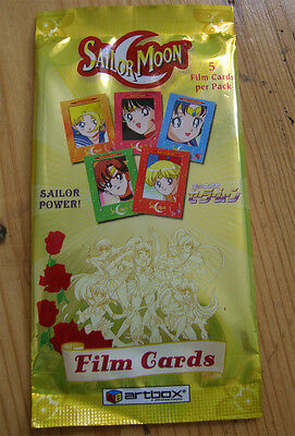 Sailor Moon CCG Film Cards Game Anime sealed *new* artbox Booster Pack