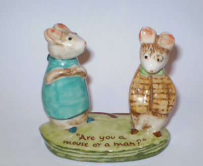 BESWICK- KITTY MACBRIDES HAPPY MOUSE- STRAINED RELATIONS No 2632
