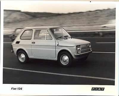 Fiat 126 original official press photo 1972