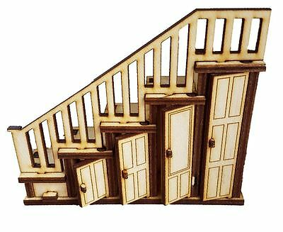 Tooth Fairy . Fairy Door Accessory Staircase Drawer and Opening Wardrobes