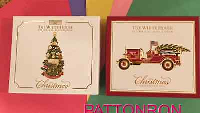 The White House Christmas Ornament - 2015 - 2016