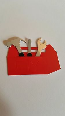 Tool Box & Tools Card Toppers
