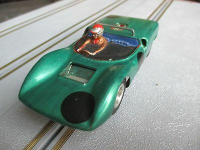 Revell Lang Cooper Cobra 1960s vintage old slot car with spare unpainted body