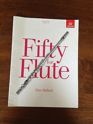 Fifty For Flute Book One ABRSM By Alan Bulled