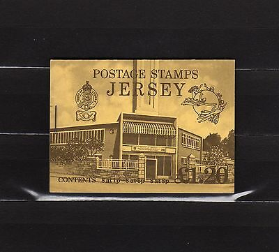 Jersey Mnh Complete Booklet 1.20 Parish Arms