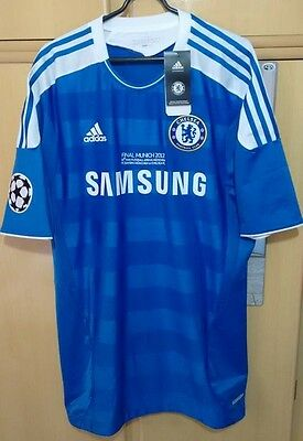 Chelsea shirt Final Munich 2012 Bayer techfit player issue jersey not match worn