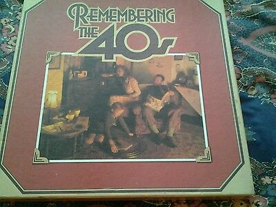 READERS DIGEST 1980's REMEMBERING THE 40'S 8 LP VINYL RECORDS