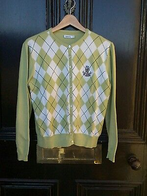 Ashworth ladies golf cardigan featuring The Dukes, St Andrews ,large