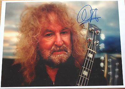 Barclay James Harvest Les Holroyd Photo signiert Autogramm signed