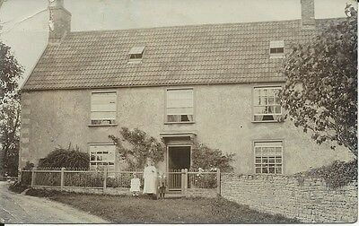 Vintage RP postcard of house - Gloucester photographer