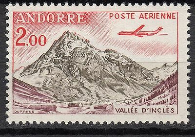 Timbre Pa  Andorre France Neuf  N° 5 * Avion Caravelle