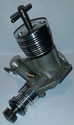 Rivers Silver Arrow 3.5 TUNED version vintage diesel model aircraft engine