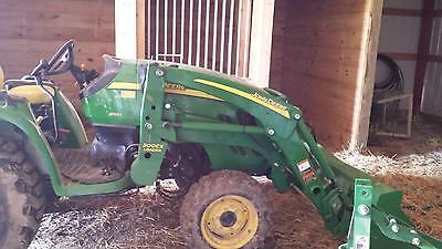 2013 John Deere 3320 Compact Utility Tractor w/  attachments