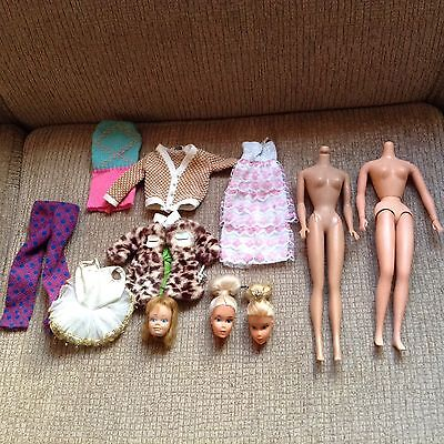 Small TLC Vintage Barbie Doll and Friends Lot