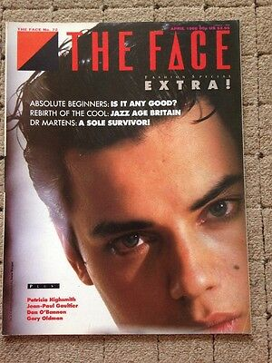 The Face Magazine April 1986 Absolute Beginners Issue