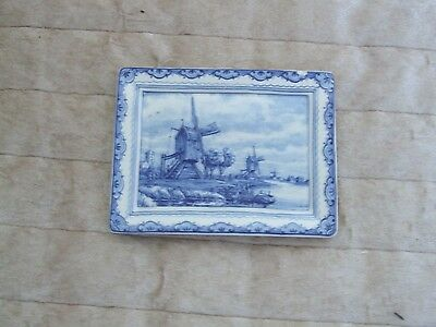 Collectable Delftware wall plaques