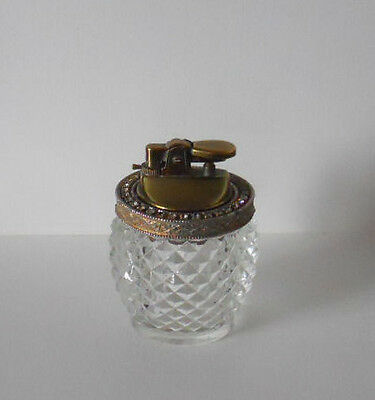 Attractive Gas Table Lighter--Beautiful Base