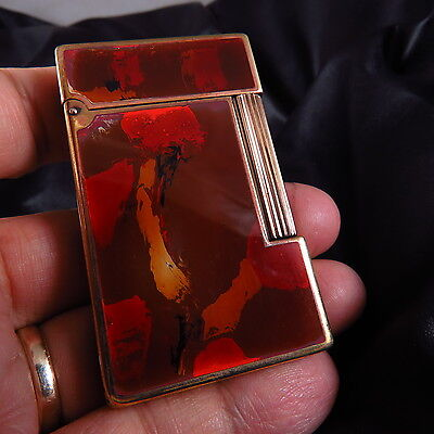 Genuine  France  Made S.t Dupont Paris Gas Lighter Free Shipping
