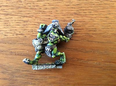 Warhammer Blood Bowl Goblin Bomber Dribble Snot 1993 Well Painted