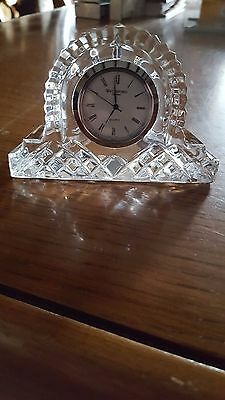 Waterford Crystal Miniature Clock