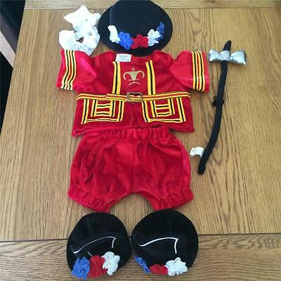 Build A Bear Factory 6Pc Beefeater Tower Guard Uk Excl