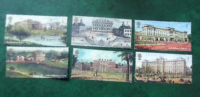 Gb Set Of 6 Used Stamps Off Paper Buckingham Palace 2014