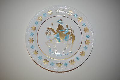1973 Spode Christmas Plate - Three Wise Men - 4th Plate in Series