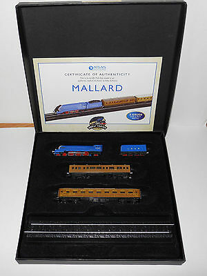 Atlas Editions-MINITRAINS 1/220-MALLARD with Certificate of Authenticity.Z Gauge