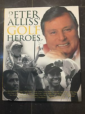 Signed Copy Of Peter Allows Golf Heroes Book