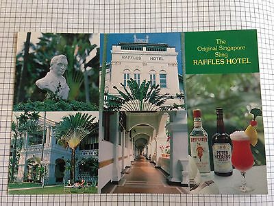Singapore The Original Singapore Sling Raffles Hotel Postcard