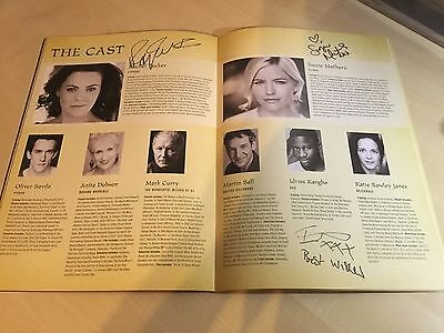 Wicked The Musical SIGNED London Programme 2016/17, 10th Anniversary Cast