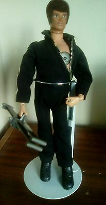 vintage palitoy action man atomic man complete outfit and helicopter