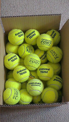 12 USED TENNIS BALLS..... from the top manufactures *** FREE POSTAGE! ***