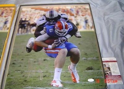 JADEVEON CLOWNEY Signed Game Cocks 16X20 Photo w/ JSA Autograph COA Texans