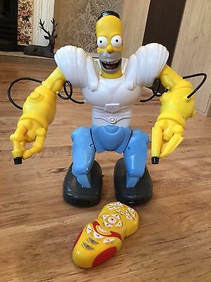 WowWee Homersapien Homer Simpson Robot Figure with Remote Control LARGE