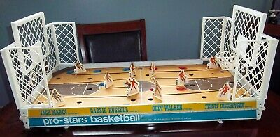 Coleco Official NBA Basketball  Game Pro   1969 game board and end  boards