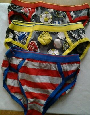 M&S BoyS 4-5 Years Pack of 5 Cotton Briefs . BNWT