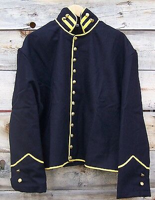Civil War Reenactor Union Cavalry Shell Jacket With Bolsters 50