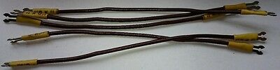 OK Ignition Lead x 5 New Old Stock (vintage model aircraft engine) (d)