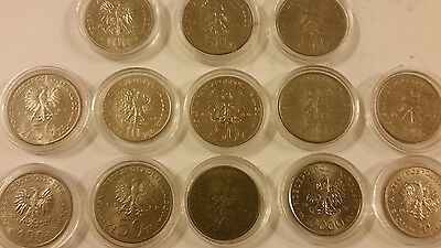 Coins collection from Poland