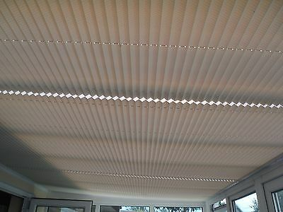 Conservatory Ceiling  Blinds x 3      Used