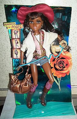 Moxie Teenz BIJOU African American Doll Rooted Hair Lashes New opened box