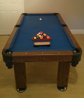 BCE Standard Size Pool Table with Full set of balls EXCELLENT CONDITION
