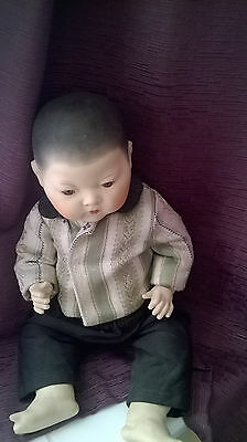 Character Armand Marseille German 353 4/K Oriental Bisque Baby Doll Reproduction