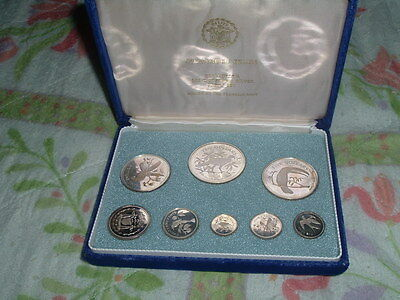1974 Belize Silver Collector's Set
