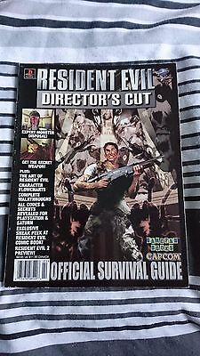 Rare Resident Evil Director's Cut Strategy Guide