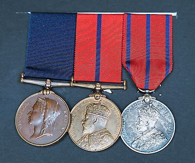 +++ Trio of police medals +++