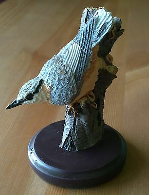 The Country Bird Collection - The Nuthatch Figurine/Ornament