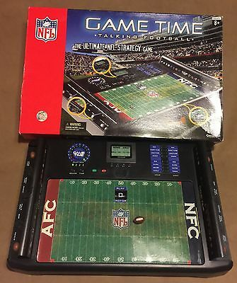 NFL Game Time Electronic Talking Football 2007 Excalibur
